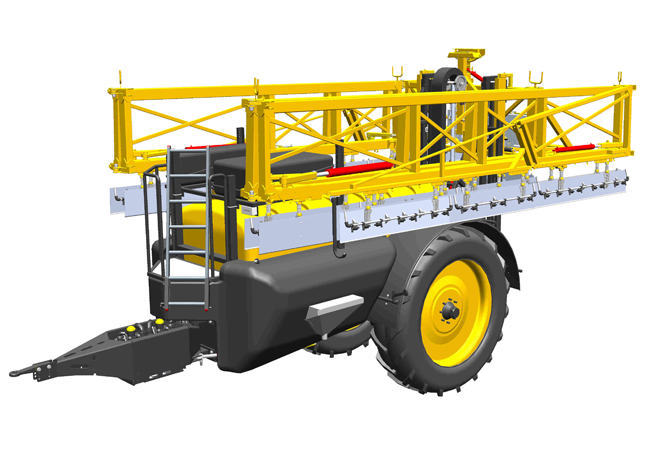 Trailed sprayers – Dubex